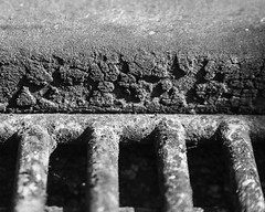 IMGP3350 (agianelo) Tags: charcoal grill rough barbecue bars shadow abstract monochrome bw bn blackandwhite