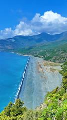 523 - Cap Corse - Nonza, la falaise et la plage (paspog) Tags: nonza corse plage beach strand corsica france falaise cliff mai may 2018