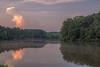 Sunset at Collins Hill (Jon Ariel) Tags: collins hill gwinnett gwinnettcounty metroatlanta atlanta georgia ga lake reflection sunset