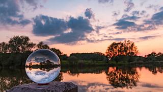 Die Glaskugel am Mühlensee