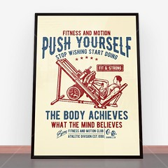 Plakat Push Yourself (nasciany) Tags: plakat plakaty nascianypl dekoracje wall wallpaper walls plakatydekoracyjne ilustracja posters print decor decortion art homedecor home homesweethome interiordesign decorations interior design walldecor walldecoration homedesign printablewallart decorativeposter wystrojwnetrz illustration