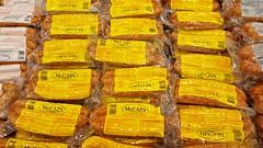 Sausage (Studio d'Xavier) Tags: sausage pork meat yellow food grocerystore supermarket