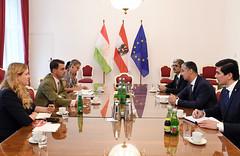 Generalsekretär Peterlik trifft Vize-Außenminister von Tadschikistan Nasreddin