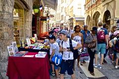Rue Saint-Jean, Vieux Lyon, (David McSpadden) Tags: ruesaintjean vieuxlyon schoolboys lyon france