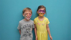 "Paul and Inde's Face Paint • <a style=""font-size:0.8em;"" href=""http://www.flickr.com/photos/109120354@N07/41741088600/"" target=""_blank"">View on Flickr</a>"
