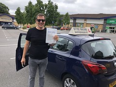 Massive congratulations to Junior Pierin passing his driving test on his first attempt with only 3 faults! All the best Junior!  www.leosdrivingschool.com