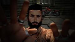 Within Reach (Hajahbusa Skeltragor) Tags: catwa daniels men beard priercings shadow light sexy 4k portrait