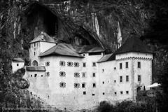 Predjama Castle (www.chriskench.photography) Tags: bw xt2 slovenia blackandwhite monochrome cave ljubljana 18135 silverefexpro castle postojna travel kenchie europe predjama blackwhite si