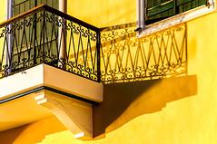 Chania, Crete (Kevin R Thornton) Tags: d90 nikon travel balcony shadow abstract city greece architecture mediterranean chania crete creteregion gr