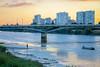 Pont Léopold-Sédar-Senghor (matthias.rigou) Tags: nantes france loire iledenantes rivière river pont bridge tour sunset coucherdesoleil reflet pêcheur sinner