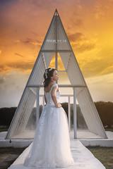 _MGL520 (Cherie Amour Photography) Tags: sunset bridal bride wedding lady woman girl art fashion romance love sky