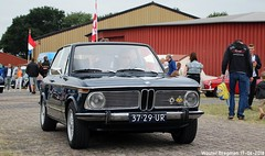 BMW 1600 Ti Touring 1972 (XBXG) Tags: 3729ur bmw 1600 ti touring 1972 bmw1600 classiccarsaeroplanes 2018 seppe breda international airport ehse seppeairport vliegveldseppe seppeairparc vliegveld luchthaven aéroport meeting carmeeting bosschenhoofd noordbrabant brabant nederland netherlands holland paysbas vintage old german classic car auto automobile voiture ancienne allemande germany deutsch duits deutschland
