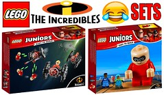 Funny Lego Incredibles 2 Sets !!! (afro_man_news) Tags: lego funny incredibles 2 minifigures minifigure moc custom sets movie characters all elastigirl violet parr edna mode frozone dash voyd the underminer bob mr incredible rick dicker winston deavor evelyn