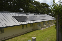 Replacement Standing Seam Roofs at Princess Elizabeth Hospital Guernsey (SIG Design and Technology) Tags: zinc nedzink roof seam standing