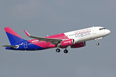 Wizz Air UK Airbus A320-232 G-WUKF (Paul's Aircraft and Transport Images) Tags: bhx birmingham elmdon airbus a320 232 wizz air uk