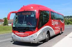 Bus Eireann SP105 (08D30337). (Fred Dean Jnr) Tags: buseireann scania k114 irizar pb sp105 08d30337 cork youghal june2018 expressway
