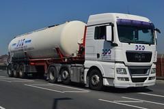 B.McFarlane Haulage MAN SF60EDO - Warrington (dwb transport photos) Tags: bmcfarlanehaulage man hgv truck sf60edo warrington