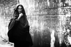 The BURQA clad MEDUSA (N A Y E E M) Tags: oldlady neighbour candid portrait afternoon street rabiarahmanlane chittagong bangladesh windshield woman burqa