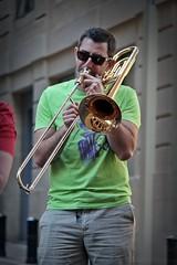 La Grasse Bande # 3 (just.Luc) Tags: trombone metal metaal musicalinstrument musician musicien instrumentdemusique man male homme hombre uomo mann streetportrait bordeaux gironde nouvelleaquitaine france frankrijk frankreich francia frança
