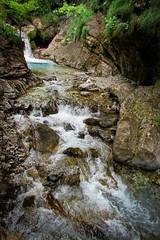 Waterfall at the Val Vertova, Italy_ Jul 1, 2018 #60 (Markom 4.0) Tags: waterfall val vertova italy italia river fiume acqua water landscape paesaggio canonsx400
