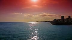 Brighton colour efex (psychosteve-2) Tags: brighton beach sea sunset colourefex