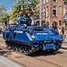 YPR 765 pantserrupsvoertuig Koninklijke Marechaussee - Veteranendag 2018