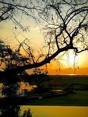 Sunset at Sanctum Inle Resort (sanctuminle) Tags: sunset shanstate myanmar beautifulmoment sanctuminleresort poolview lakeview