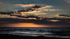 Sunset (Magda Banach) Tags: balticsea canon canoneos5dmarkiv dźwirzyno clouds dramatic landscape lato nature niebo outdoor outside poland sea sky summer sunbeams sunset