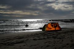 L'uomo e il mare (meghimeg) Tags: 2018 portomaurizio mare sea acqua water uomo man surf kitesurf onde wave