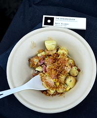 Gnocchi from The Shaved Duck (pjpink) Tags: broadappetit foodfestival festival broadst downtown food rva richmond virginia june 2018 summer pjpink 2catswithcameras