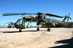 United States Army | Sikorsky CH-54A Tarhe | 68-18437 | Pima Air & Space Museum (Dennis HKG) Tags: army usarmy unitedstatesarmy sikorsky tarhe ch54 helicopter military aircraft airplane airport plane planespotting canon 1d 24105 pima 6818437