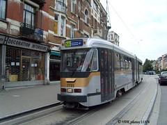 7735-11376§0 (VDKphotos) Tags: stib mivb bn pcc t7700 tram livrée06 belgium bruxelles