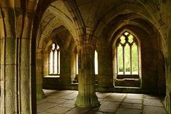 The Chapter House Valle Crucis Abbey. (Eddie Crutchley) Tags: europe uk wales abbey ruins vallecrucisabbey historicbuilding church architecture simplysuperb greatphotographers