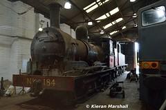 184, Whitehead, 7/7/18 (hurricanemk1c) Tags: railways railway train trains 2018 rpsi railwaypreservationsocietyofireland whitehead gswr j15class 184 greatsouthernandwesternrailway