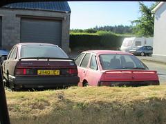 Ford Sierra 2.0 GLS and XR4x4 (Andrew 2.8i) Tags: car classic carspotting street spot spotting rust abandoned xr xr4 xr4x4 sierra laser 20 capri ford scapyard junkyard scrap junk yard