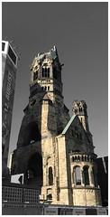 Kaiser-Wilhelm-Gedächtnis-Kirche (Markus Alydruk) Tags: church ruins europe germany berlin bombed kaiserwilhelmgedächtniskirche cathedral budapesterstrase