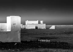 white houses (robertoburchi1) Tags: desert deserto sahara blackwhite bianconero landscape conceptual
