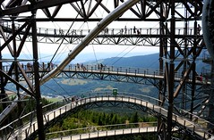 Sky Walk (BluexRaven) Tags: skywalk sky walk mountains mountain czechrepublic nature industrial observation