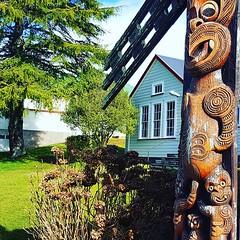 Beautiful carvings on this wharekura #betterworkstories #history #stories #pastpresentfuture (easegill) Tags: ifttt instagram