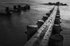 The Good Light (Thomas Pohlig) Tags: seashore sea series seascape beach water ocean longexposure jersey jerseyshore jetty newjersey capemay blackandwhite blackandwhitephotography monochrome mono fineart