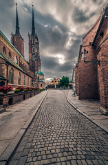 Tumski island (Vagelis Pikoulas) Tags: wroclaw poland europe travel photography street architecture may spring 2018 landscape city cityscape canon 6d