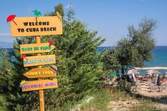 Welcome (nikos__pot) Tags: sea summer sun sand beach