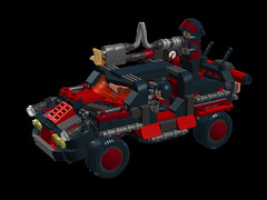 m2 corporate SUVs5 (demitriusgaouette9991) Tags: suv lego military army ldd armored deadly powerful future vehicle turret flames