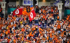 Tokyo Yomiuri Giants Baseball Team Fans at Tokyo Dome - Tokyo Japan (mbell1975) Tags: bunkyōku tōkyōto japan jp tokyo yomiuri giants baseball team fans dome game nippon 日本野球機構 yakyū kikō プロ野球 npb japanese 東京ドーム tōkyō dōmu baseballstadion stadion
