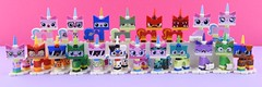 LEGO 41775 Unikitty! Series 1 and more😺 (Alex THELEGOFAN) Tags: lego legography minifigure minifigures minifig minifigurine minifigs minifigurines movie unikitty angry queasy kitty the tv show series 1 cat dog puppycorn shades dalmatian dessert camouflage sleepy alien collectible
