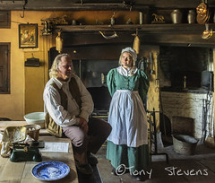 Pockerley Old Hall. (snotty7) Tags: pockerley beamish period history portraiture durham beamishmuseum light interior kitchen
