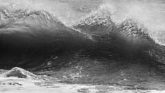Surf Sculpture (Thomas Pohlig) Tags: seashore sea series seascape beach water waves ocean oceanwaves capemay landscape jersey jerseyshore blackandwhite blackandwhitephotography monochrome mono
