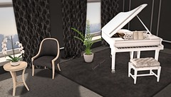 Life is like a Piano (Sannita_Cortes) Tags: aphroditehearthomes aphroditeshop hearthomes circaliving building decorating furniture furnituredecor home posesprops decoration virtualworld virtualfurniture virtualdecoration secondlife sl piano