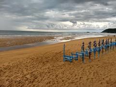 Zarautz  4 (Zer Xabilau?) Tags: hondartza playa