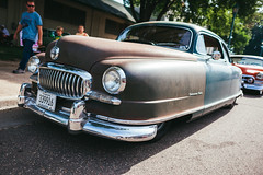 Nash Statesman Super (Garret Voight) Tags: nash statesman super car vehicle automobile automotive old retro vintage classic antique american muscle chrome show custom modified lowered stance street hot rod 1940s 1950s 1960s mn minnesota outdoors